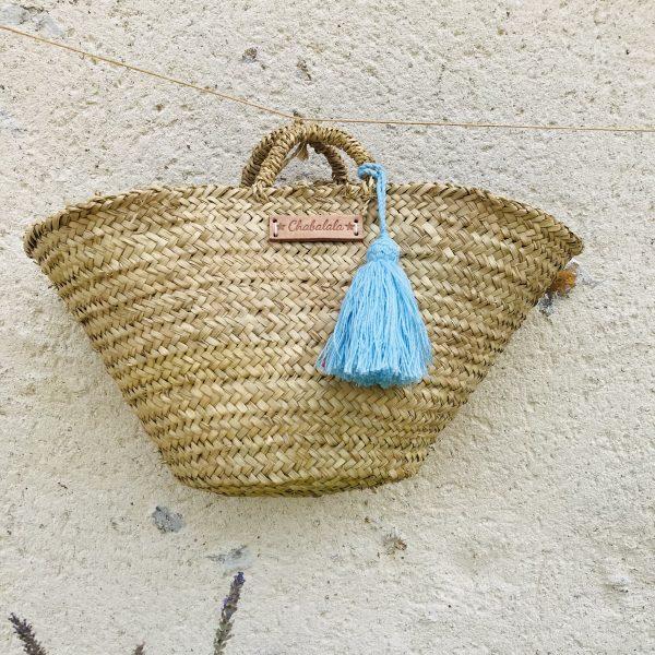 Straw handbags
