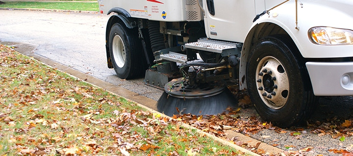 Lot Sweeping Services